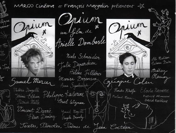Opium, un film d'Arielle Dombasle