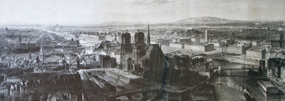 Paris en 1860 par Edouard Willmann