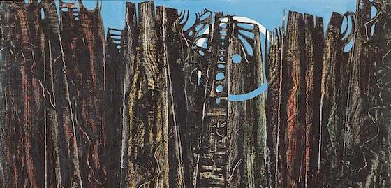 Une forêt profonde et bleue de Marc Graciano